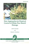 B837: New Approaches to Chemical Control of White Pine Weevil Damage