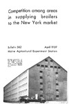 B582: Competition among Areas in Supplying Broilers to the New York Market