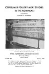 B536: Consumer Poultry Meat Studies in the Northeast by Richard Saunders