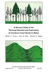 B758: A Biomass Study of the Thinning Potential and Productivity of Immature Forest Stands in Maine by Harold E. Young, John H. Ribe, and Donald C. Hoppe