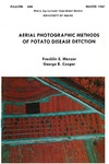 B646: Aerial Photographic Methods of Potato Disease Detection by F. E. Manzer and George R. Cooper
