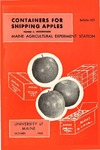 B521: Containers for Shipping Apples by Homer C. Woodward