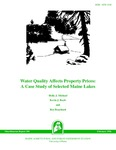 MR398: Water Quality Affects Property Prices: A Case Study of Selected Maine Lakes