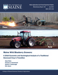 Maine Wild Blueberry Growers: A 2010 Economic and Sociological Analysis of a Traditional Downeast Crop in Transition