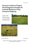 TB198: Economic Analysis of Organic Pest Management Strategies for Lowbush Blueberries Using Enterprise Budgeting by Andrew C. Files, David Yarborough, and Frank Drummond