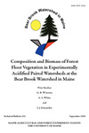 TB202: Composition and Biomass of Forest Floor Vegetation in Experimentally Acidified Paired Watersheds at the Bear Brook Watershed in Maine