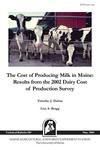 TB189: The Cost of Producing Milk in Maine: Results from the 2002 Dairy Cost of Production Survey by Timothy J. Dalton and Lisa A. Bragg