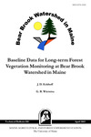 TB180: Baseline Data for Long-term Forest Vegetation Monitoring at Bear Brook Watershed in Maine