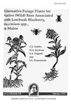 TB148: Alternative Forage Plants for Native (Wild) Bees Associated with Lowbush Blueberry, Vaccinium spp., in Maine