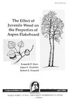 The Effect of Juvenile Wood on the Properties of Aspen Flakeboard