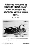 TB86: Waterfowl populations as Related to Habitat Changes in Bog Wetlands of the Moosehorn National Wildlife Refuge