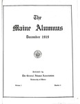Maine Alumnus, Volume 1, Number 2, December 1919 by General Alumni Association, University of Maine
