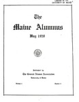 Maine Alumnus, Volume 1, Number 5, May 1920