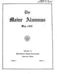 Maine Alumnus, Volume 1, Number 5, May 1920