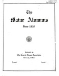 Maine Alumnus, Volume 1, Number 6, June 1920