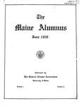 Maine Alumnus, Volume 1, Number 6, June 1920