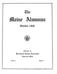 Maine Alumnus, Volume 2, Number 1, October 1920