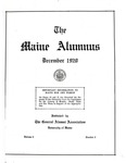 Maine Alumnus, Volume 2, Number 2, December 1920