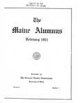 Maine Alumnus, Volume 2, Number 3, February 1921 by General Alumni Association, University of Maine