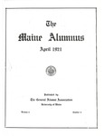 Maine Alumnus, Volume 2, Number 4, April 1921