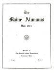 Maine Alumnus, Volume 2, Number 5, May 1921 by General Alumni Association, University of Maine