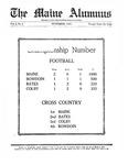 Maine Alumnus, Volume 6, Number 2, November 1924