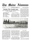Maine Alumnus, Volume 3, Number 2, November-December 1921