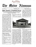Maine Alumnus, Volume 3, Number 6, June-July 1922