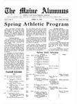 Maine Alumnus, Volume 4, Number 9, April 14, 1923