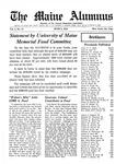 Maine Alumnus, Volume 4, Number 17, June 9, 1923