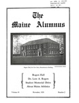 Maine Alumnus, Volume 10, Number 2, November 1928