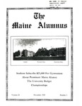 Maine Alumnus, Volume 10, Number 3, December 1928