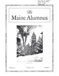 Maine Alumnus, Volume 11, Number 5, February 1930