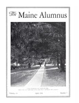 Maine Alumnus, Volume 11, Number 7, April 1930