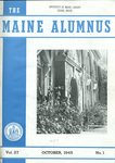 Maine Alumnus, Volume 27, Number 1, October 1945 by General Alumni Association, University of Maine