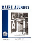 Maine Alumnus, Volume 27, Number 2, November 1945 by General Alumni Association, University of Maine