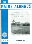 Maine Alumnus, Volume 27, Number 3, December 1945 by General Alumni Association, University of Maine