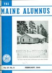 Maine Alumnus, Volume 27, Number 5, February 1946 by General Alumni Association, University of Maine