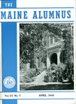 Maine Alumnus, Volume 27, Number 7, April 1946 by General Alumni Association, University of Maine