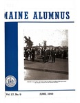 Maine Alumnus, Volume 27, Number 9, June 1946