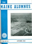 Maine Alumnus, Volume 28, Number 1, October 1946 by General Alumni Association, University of Maine