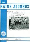 Maine Alumnus, Volume 28, Number 8, May 1947