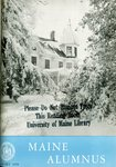 Maine Alumnus, Volume 39, Number 4, January 1958 by General Alumni Association, University of Maine