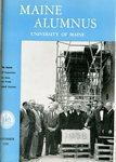 Maine Alumnus, Volume 40, Number 2, November 1958 by General Alumni Association, University of Maine