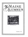 Maine Alumnus, Volume 12, Number 3, December 1930
