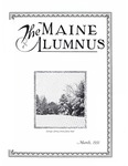 Maine Alumnus, Volume 12, Number 6, March 1931
