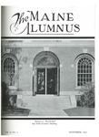 Maine Alumnus, Volume 13, Number 2, November 1931