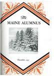 Maine Alumnus, Volume 13, Number 3, December 1931