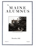 Maine Alumnus, Volume 14, Number 3, December 1932
