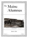 Maine Alumnus, Volume 14, Number 6, March 1933